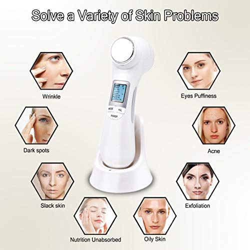 6 in 1 Facial Anti-Aging R-F High Frequency Skin Tightening Machine