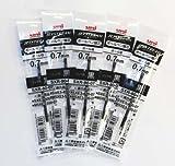 Uni-ball Jetstream Fine Point Roller Ball Pens Refills for Multi Pen Type -0.7mm-black Ink-value Set of 5