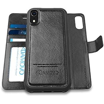 0c5be6d943f2 Amazon.com: Shields Up iPhone XR Wallet Case, [Detachable] Magnetic ...