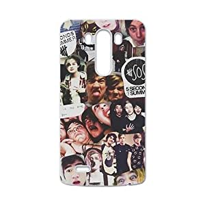 5 Secongs Of Summer New Style High Quality Comstom Protective case cover For LG G3