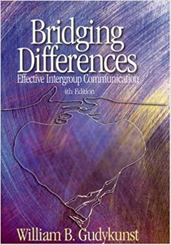 Book Bridging Differences: Effective Intergroup Communication (Interpersonal Communication Texts) by Gudykunst, William B. (2003)