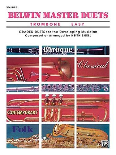 Belwin Master Duets Trombone Easy, Vol. 2