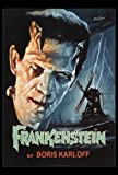 Frankenstein Movie Poster (27 x 40 Inches - 69cm x 102cm) (1931) -(Boris Karloff)(Colin Clive)(Mae Clarke)(John Boles)(Dwight Frye)(Edward Van Sloan)