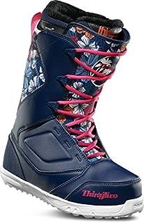 78be37f727fd1 Amazon.com : M3 Venus snowboard boots White Blue Girls youth Sizes 4 ...
