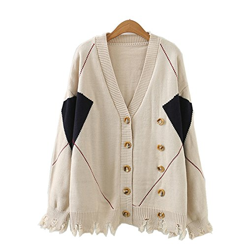 Double Breasted Cardigan Sweater - 8