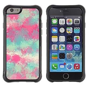 Suave TPU GEL Carcasa Funda Silicona Blando Estuche Caso de protección (para) Apple Iphone 6 / CECELL Phone case / / Painting Spring Nature Art /