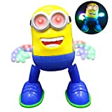 Minion Singing / Dancing Battery Operated Musical Flash Light toy  (Multicolor)