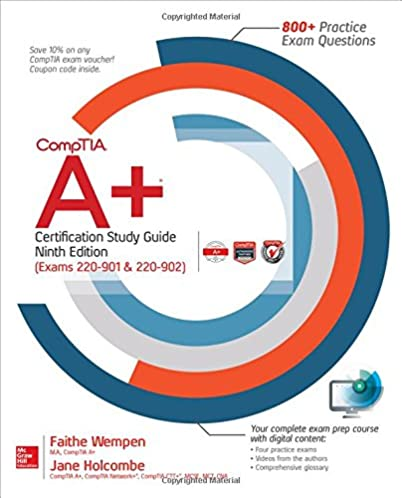 A certification study guide user guide manual that easy to read amazon com comptia a certification study guide ninth edition rh amazon com comptia a certification study guide study guide template fandeluxe Image collections