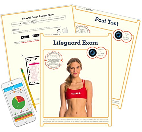 (Spanish Version) Pismo Beach Lifeguard Department (City of), CA Lifeguard Exam, Lifesaver Test Prep, Study - Pismo City Beach
