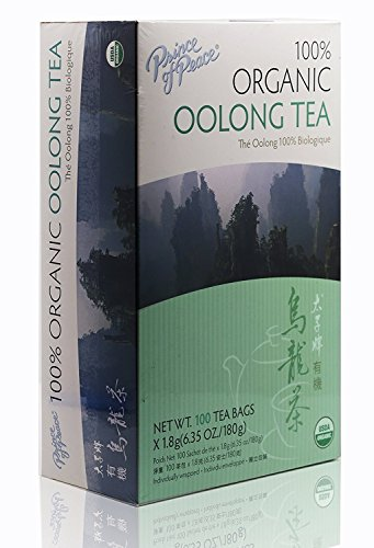 Prince Of Peace Organic Oolong Tea-100 Tea Bags net wt. 6.35oz (180g) (1) - Prince Organic Tea