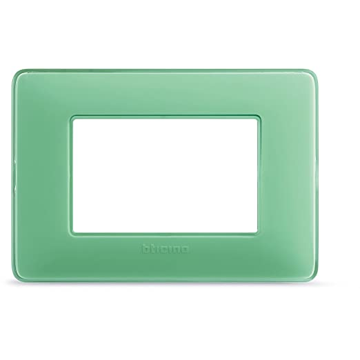 7 opinioni per BTicino AM4803CVC Placca 3 Moduli, Té Verde