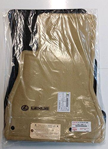 Toyota Genuine Parts PT208-24060-14 OEM Lexus SC430 Camel Carpet Floor Mat ()