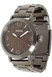 Fossil Clyde Stainless Steel Watch Smoke