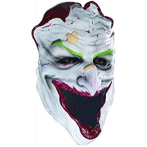 [Joker Mask Adult Face Skin Arkham Scary Halloween Costume Fancy Dress] (Halloween Costume Ideas 2016 Men)
