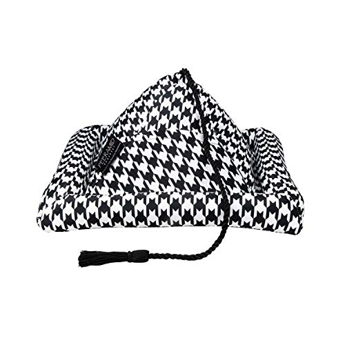 Peeramid Bookrest, Houndstooth (62030) (Pillows Pyramid Reading For)