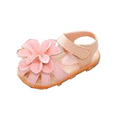 d7edfb004e562 Baby Shoes Peach Color Platic Style 5-8 Month for Baby Girls  Amazon.in   Shoes   Handbags