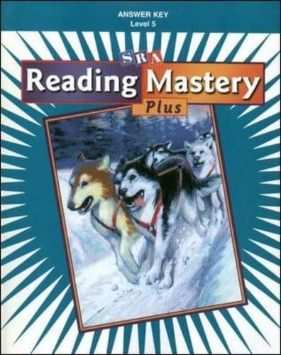 Download Reading Mastery Plus Additional Answer Key Level 5 pdf epub