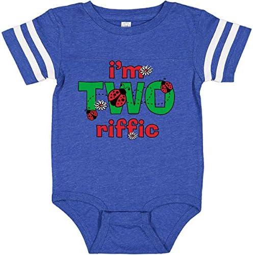 TooLoud Pretty Daisies Watercolor Baby Romper Bodysuit