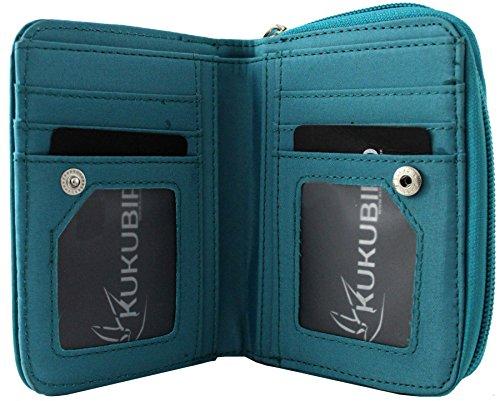 Medium Wallet signore Nuove Blue Disegni Purse Kukubird Fumetto Ragazze Bassotto IqBwxn6Rf