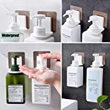 407 Shower gel bottle rack hook bracket bathroom