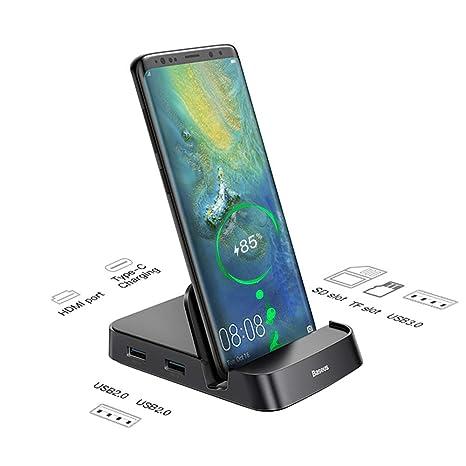 Amazon.com: Baseus - Base de carga USB tipo C para Samsung ...