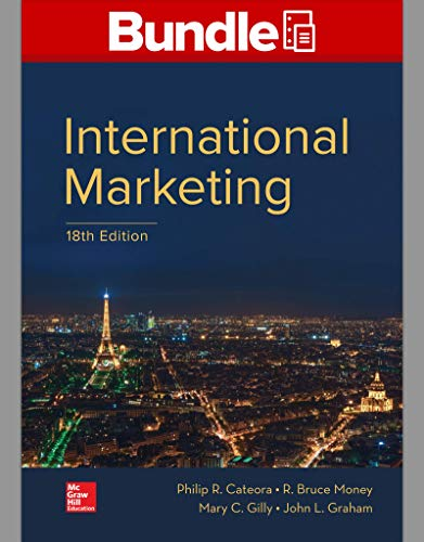 GEN COMBO LOOSELEAF INTERNATIONAL MARKETING; CONNECT Access Card