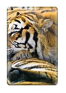 New Premium Flip Case Cover Sleeping Tigers Skin Case For Ipad Mini/mini 2
