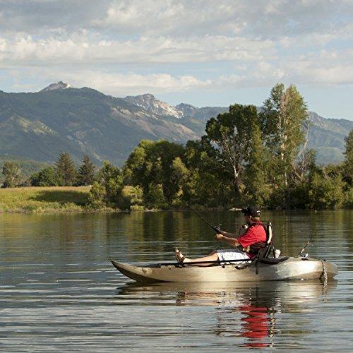 Lifetime sport fisher tandem kayak with paddles and for Lifetime fishing kayak
