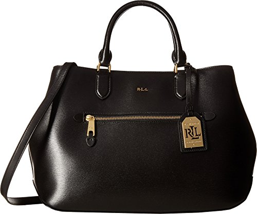 LAUREN Ralph Lauren Women's Newbury Sabine Satchel Black One Size