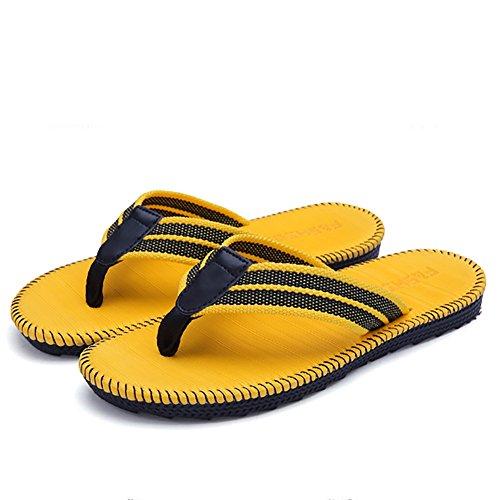 aire 47 45 de Tamaño Zapatilla Zapatilla grande playa sandalia de la Amarillo deporte de deporte de Color verano Amarillo Zapatilla al de tamaño hombre de 36 mujeres libre ZJM HXaFgpwF