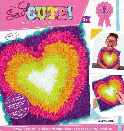ColorBok 73969 SC Latch Hook Kit Heart ()