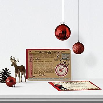 Personalised letter from santa telegram amazon baby personalised letter from santa telegram spiritdancerdesigns Choice Image