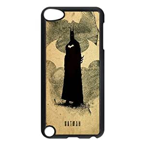 Batman Justice League Minimalist Ipod Touch 5 Cases, Girls Protective Case For Ipod Touch 5 For Boys Yearinspace {Black}