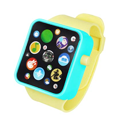 1508b5c96c5a ... Early Learning 3D Touch Screen Smart Wrist Watch Animal Farm Keyboard  Electrical Piano Child Musical Toy Gift for 3-6 Years Old Baby Kids