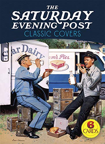 The Saturday Evening Post Classic Covers: 6 Cards (Dover ()