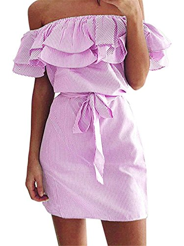 Pink Denim Dress - 8