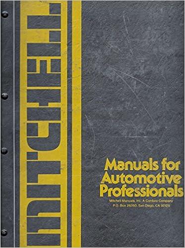 Mitchell Manuals Domestic Car Wiring Diagrams 1971 81 Amazon Com Books