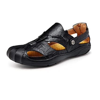 02cac514d6b4 Amazon.com  Cai-hy Mens Sandals - Durable Summer Shoes