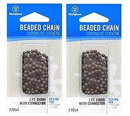 3\' BRZ Bead Pull Chain (2)