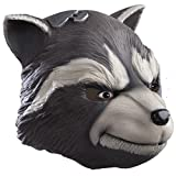 Rubie's Costume Men's Guardians Of The Galaxy Overhead Rocket Raccoon Mask, Multi, One Size