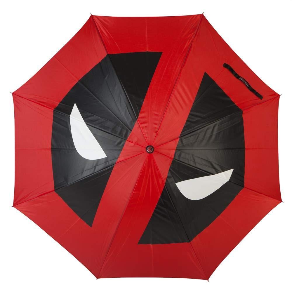 Official Marvel Deadpool Logo Katana Style Large Umbrella UM5672MVU