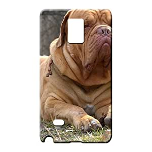 samsung note 4 Excellent Style New Fashion Cases mobile phone carrying shells Animals Dogs Funny Mastiff French Mastiff Dogue De Bordeaux