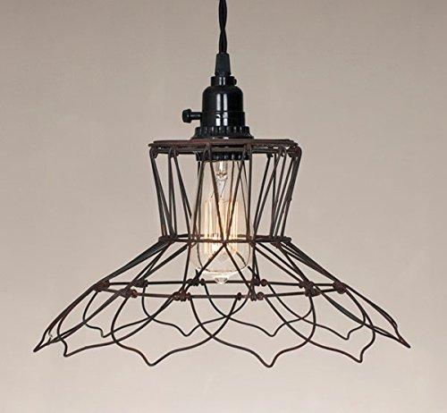 Vintage Wire Pendant Lamp