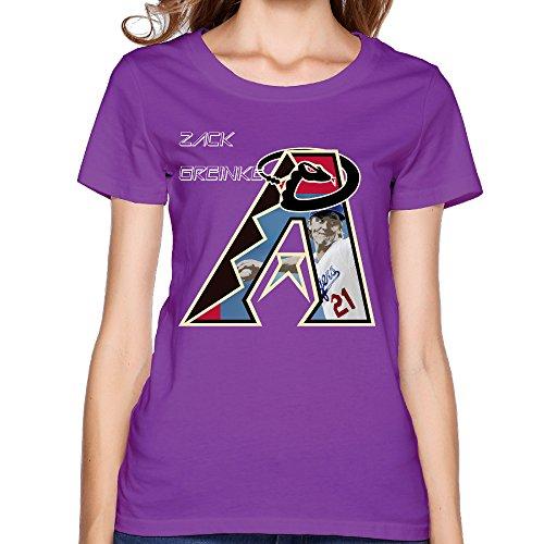 - Juice Forus Arizona Zack Diamondback Women's Short Sleeves Tee Graphic XXL Purple