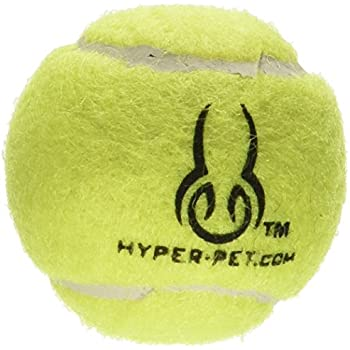 Hyper Pet Mini Tennis Balls for Dogs, Pet Safe Dog Toys for Exercise and Training, Pack of 4, Green