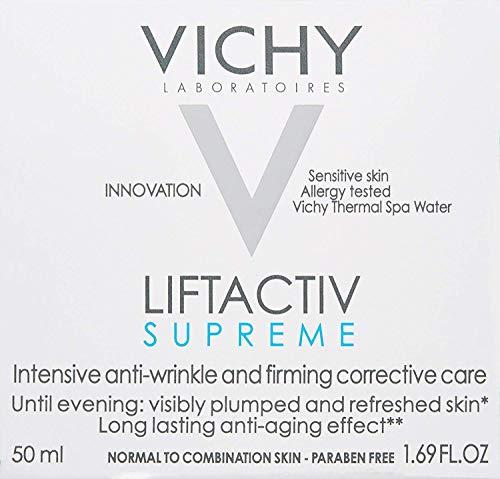 51%2B2c6RpyiL - Vichy LiftActiv Supreme Anti Aging Face Moisturizer, Anti Wrinkle Cream to Firm & Illuminate, Suitable for Sensitive Skin, 1.69 Fl Oz