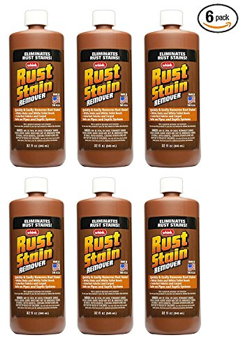 Rust Stain Remover- 6 Pack