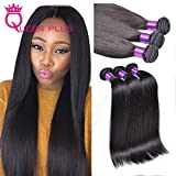 """1)Hair Material:100% unprocessed human hair2)Hair Colour: Unprocessed Natural Color3)Hair Grade:AAAAAAA4)Length:8""""-28""""Provide Any Mix Length According Request .5)Texture:straight hair weft6)Hair Weight:Each bundle is 95~100g7)Chemical processing:..."""