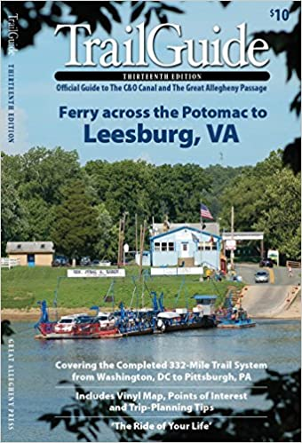 TrailGuide 13th Edition: Official Guide to the C & O C ... on mp map, erie map, gmo map, southern map, pc map, b&o map, dl&w map, conrail map, milw map, new york central map, penn central map, sou map, canadian national map, northern pacific map, central vermont map, new haven map, nickel plate map, prr map, csx map,