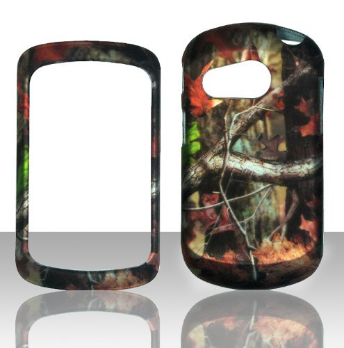 2D Camo Trunk V Pantech Swift P6020 slider AT&T Case Cover Hard Phone Case Snap-on Cover Rubberized Touch Protector Cases